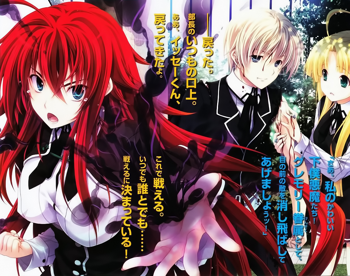 bs.to highschool dxd