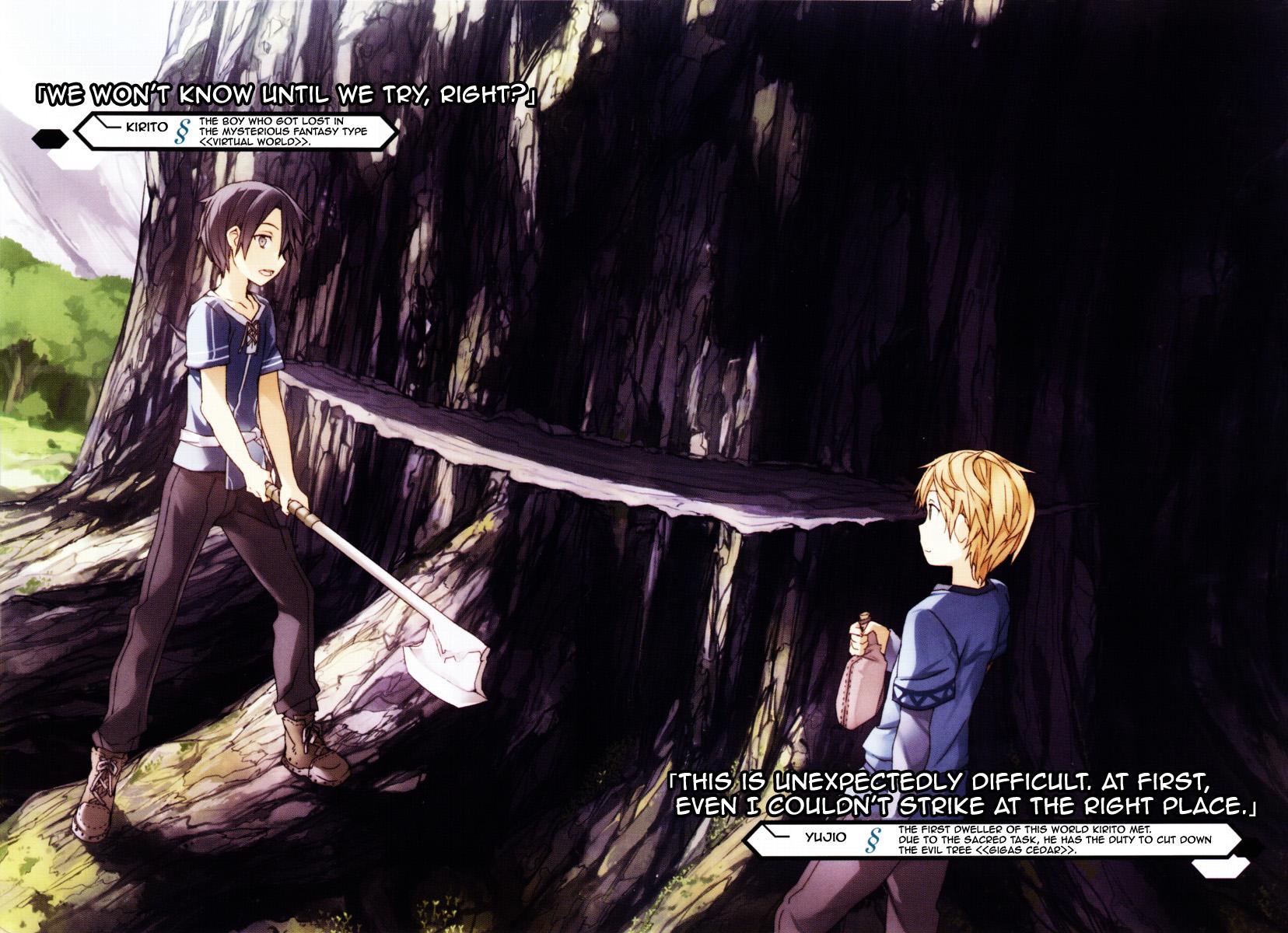sao light novel pdf volume 7